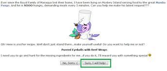 quest help got their homepage at neopets com