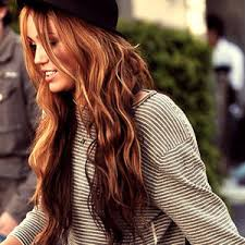gorgeous hair i love the pretty brown color with i love this color but miley being ignorant of how beautiful her