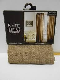 Nate Berkus Arrowhead Rug Nate Berkus Designer Chocolate Herringbone One Window Panel 54