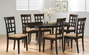 Appealing Designs Of Dining Tables And Chairs  In Small Glass - Furniture dining table designs