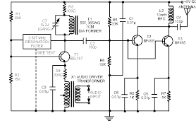 schematic u0026 wiring diagram long range am transmitter