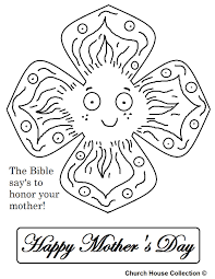 clip art mother coloring pages mycoloring free printable