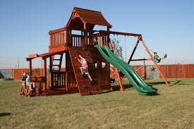 Kids Backyard Playground Backyard Slides For Kids Wooden Best Outdoor Playsets For Kids In