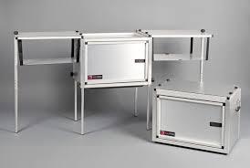 Kitchen Set Aluminium Composite Panel The Camp Kitchen Aluminum Camping Kitchen By Trail Kitchens