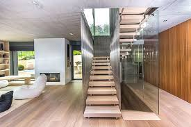 three story building architecture and interior design of the three story building in
