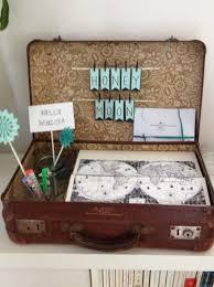 cagnotte mariage valise pour urne vintage annonces dentelle mariage