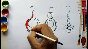 how to draw ladies ornaments ornaments draw u0026 color draw for