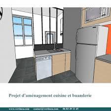 cuisine buanderie aménagement optimisation d une cuisine pour intégrer une buanderie
