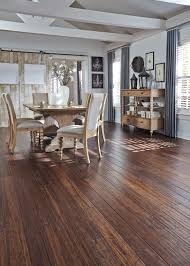 Distressed Flooring Laminate Distressed Bamboo Is A Top Pick This Fall Would You Use This