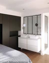 salle de bain dans une chambre charmant chambre parentale avec salle de bain avec salle de bains