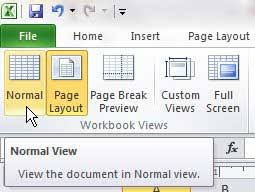 get layout from view how to get out of header and footer view in excel 2010 solve your tech