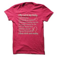 my cat is my baby hoodie iheartcats com