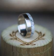 design of wedding ring wood antler rings staghead designs design custom wedding