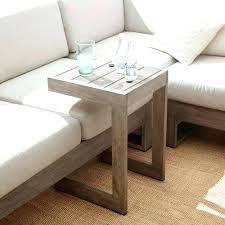 adjustable couch table tray decorative under couch table appealing side adjustable slide sofa