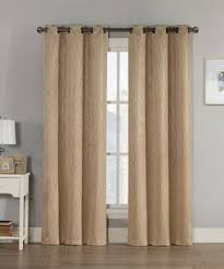 Style Selections Thermal Blackout Curtains Sweet Home Collection Chevron Thermal Blackout Curtain Panels
