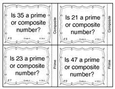 prime and composite numbers prime composite factor multiple