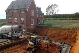 new home foundation nj poured concrete foundation services by cs construction