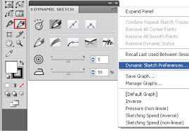 how to create a handmade icon using the dynamic sketch tool in