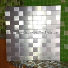 Stainless Steel Tiles For Kitchen Backsplash Cool Stainless Steel Backsplash Tiles Self Adhesive 90 On Decor