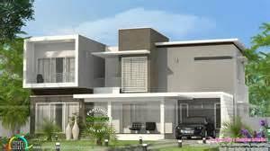 contemporary sq ft house kerala home design floor plans sq ft flat