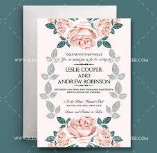 wedding invite template wedding invitation template psd amulette jewelry