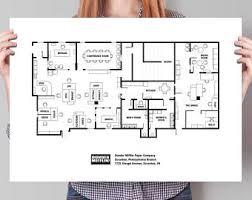 dunder mifflin floor plan the office floor plans dunder mifflin floor plans tv show