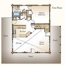 cottage floor plans with loft vacation cabin homeplans home design wm 4417 2230 sleeping