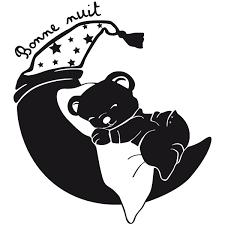 stickers nounours pour chambre bébé sticker nounours rêveur stickers center