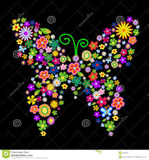 spring flower butterfly royalty free stock photography image
