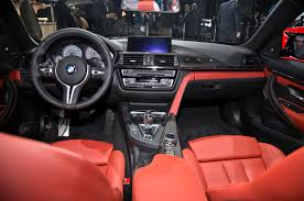 Bmw M4 Interior 2015 Bmw M4 Convertible Debuts At 2014 New York Auto Show
