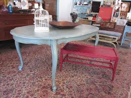 Painted Dining Room Set French Provencial Dining Table In Duck Egg Blue Sold Paper