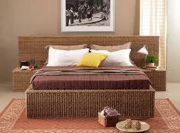 Wicker Beds Wicker Bedroom Furniture Sets Roselawnlutheran
