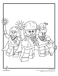 lego harry potter coloring pages print coloring