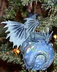 earth ornament stellar dragons by rob carlos