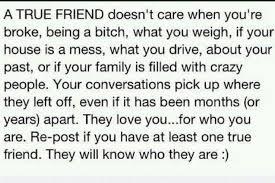 True Friend Meme - a true friend doesnt care when youre broke