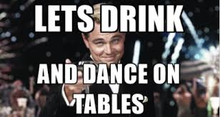 Great Gatsby Meme - let s drink great gatsby reaction know your meme