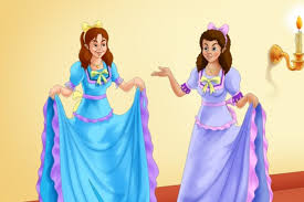 learned characters stepsisters