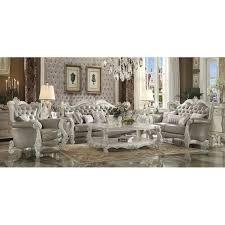 livingroom set acme furniture versailles configurable living room set reviews