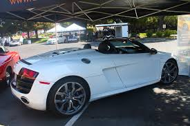 convertible audi white white audi r8 v10 spyder in detail startup accelerate youtube