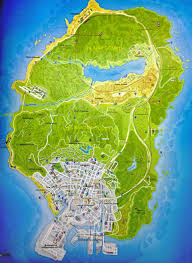 grand map pdf grand theft auto v leaked map with vibrance and brightness