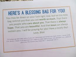 blessing bags for the homeless blair blogs just things