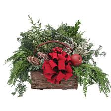 shop fresh christmas centerpiece at lowes com