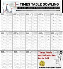 times table bowling