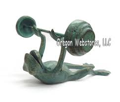 Frog Desk Accessories Frog Store Metal Frog Figurines Brass Frog Statues Pewter Frog