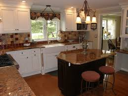 granite countertops for ivory cabinets ivory cabinets with red granite top traditional kitchen new