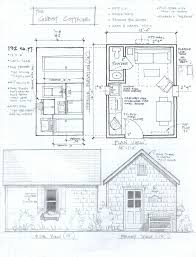 Tiny House Layout 192 Sq Ft Studio Cottage This Would Have A Really Fun Idea To