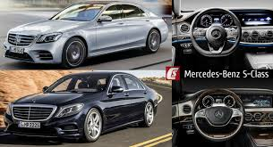 mercedes c class vs s class 2018 mercedes s class facelift takes on 2017 model in visual battle