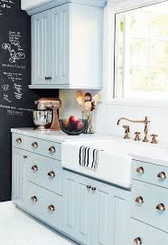 blue kitchen cabinets with copper hardware baby blue kitchen cabinets with copper hardware