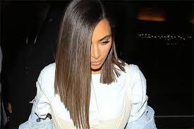 the bromans haircut kim kardashian hair tutorial get her short sleek do celebuzz