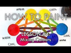 how to make mix colour with a limited palette painting techniques